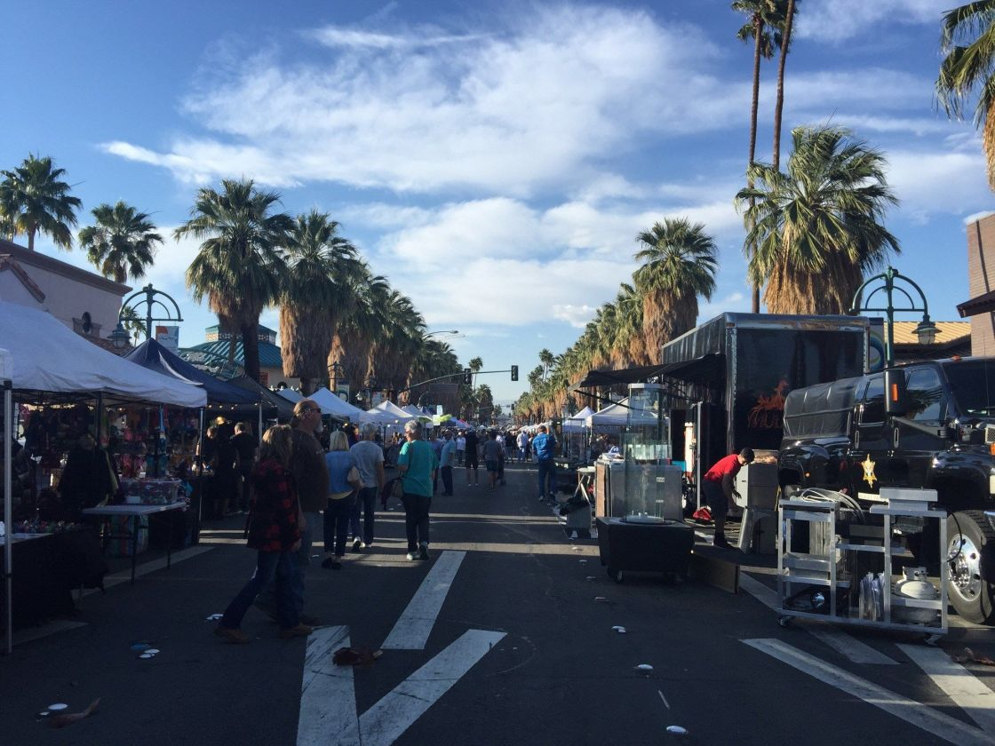 Popular Palm Springs Street Festival Switches Hours for Fall, Winter