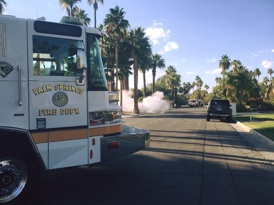 Palm Springs Fire Dept. Makes Changes After Firefighters Exposed to COVID-19