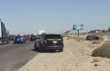 Minor Injuries Reported in Triple Car Crash Involving CHP Officer