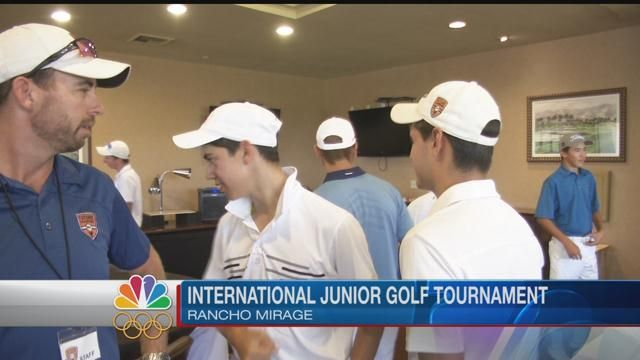 World's Top Junior Golfers Take Over Rancho Mirage
