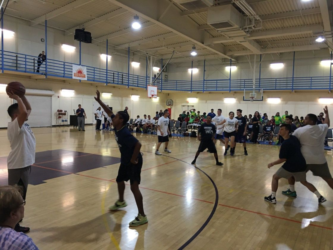 2nd Annual Badges vs. Kids Basketball Game