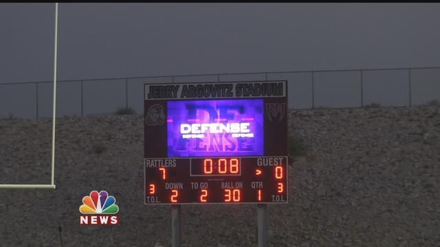 One-Of-A-Kind Video Scoreboard Lighting Up Rancho Mirage High School