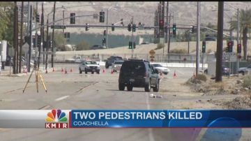Two Pedestrians Killed in Coachella Identified