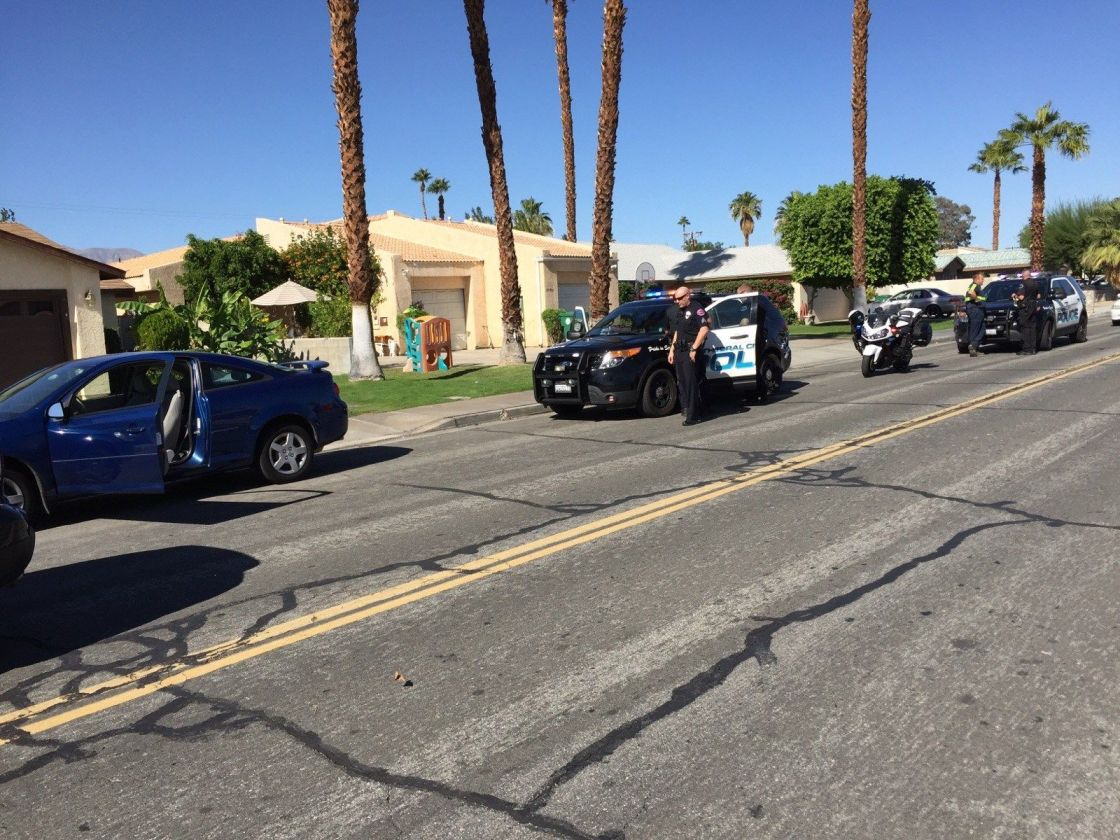 Man Arrested after Police Chase in Cathedral City