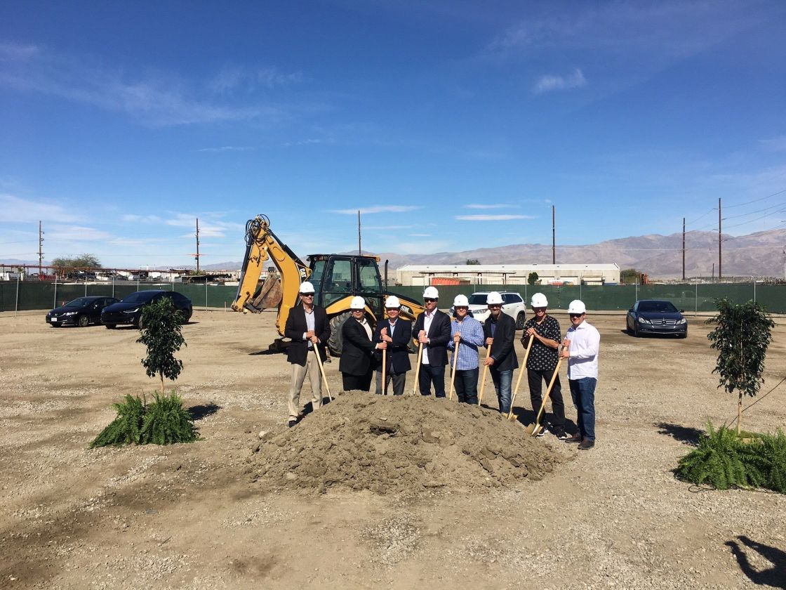 First Coachella Cannabis Cultivation Facility Breaks Ground