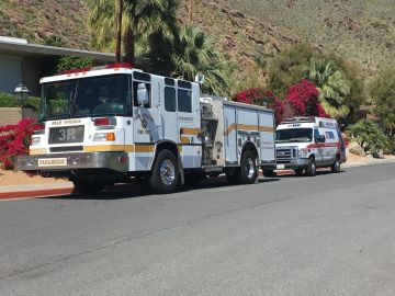 Injured Hiker Rescue at Tahquitz Canyon Trail