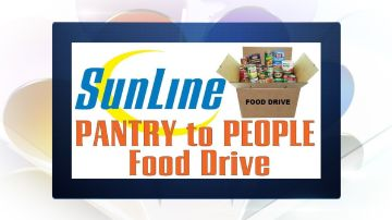 SunLine Pantry To People Food Drive