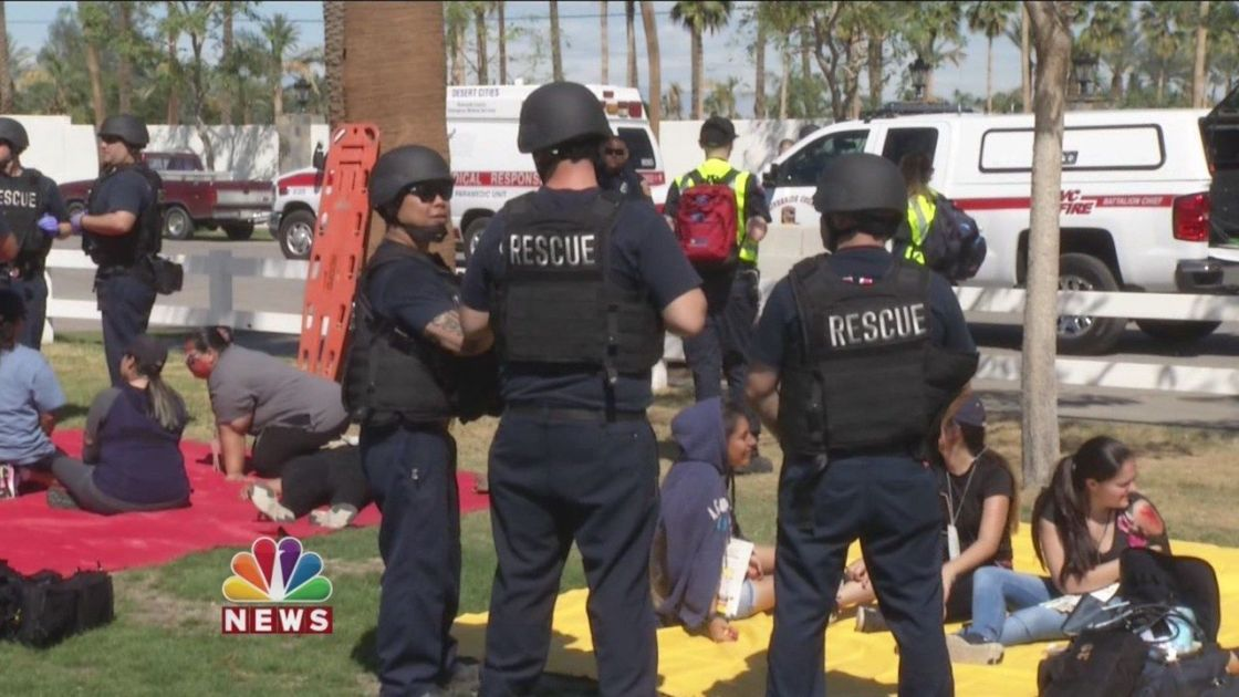 First Responders Prepare For The Worst Ahead Of Concert Season