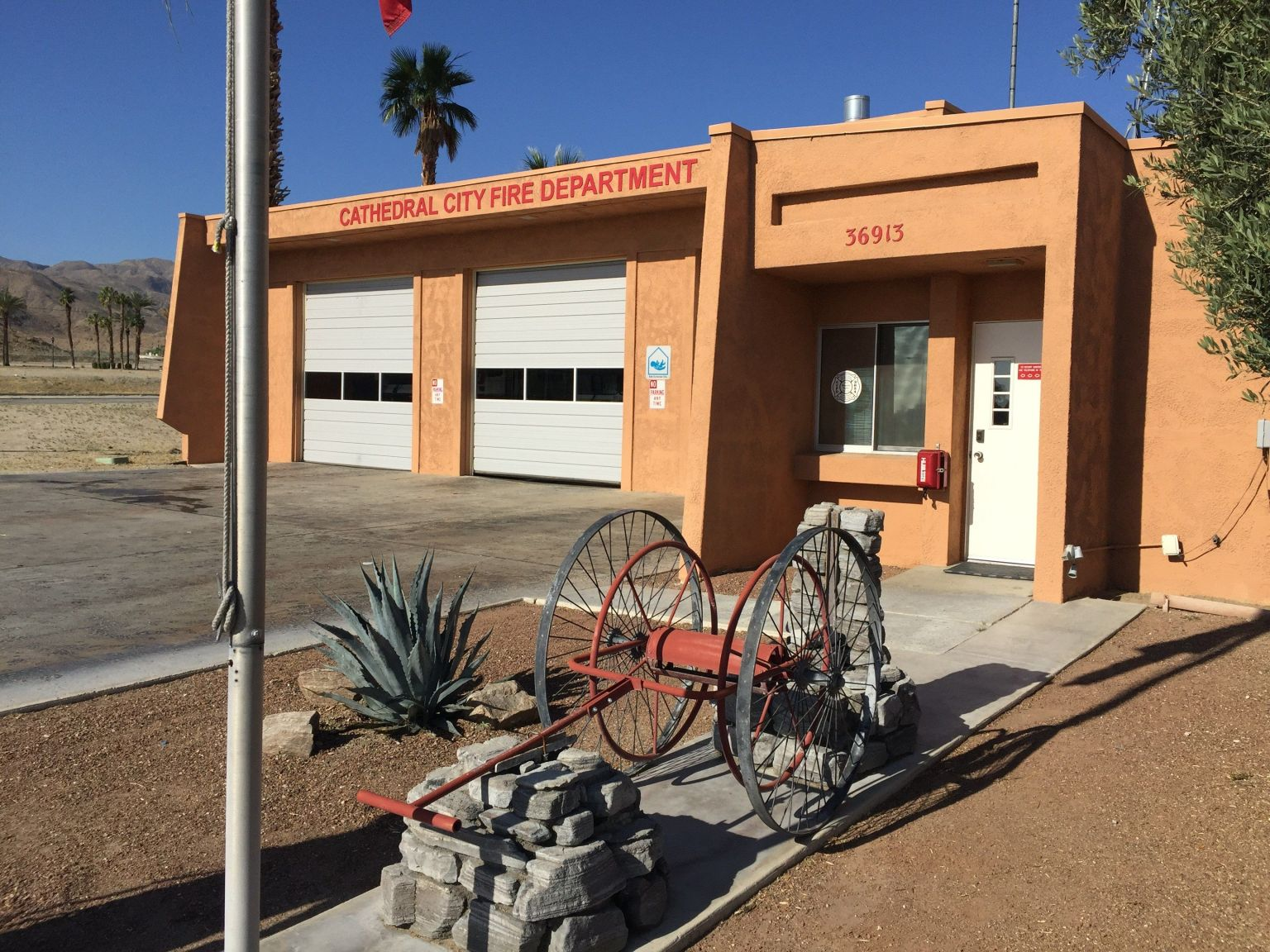 Cathedral City Fire Station Plans For New Home