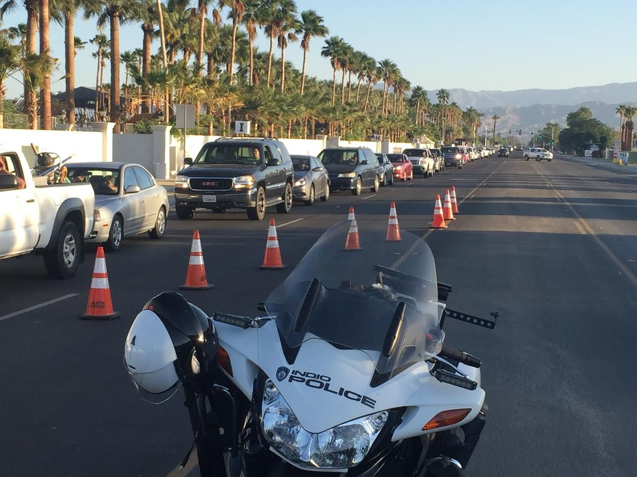 Traffic Accidents and Congestion, Coachella Weekend Two is Here