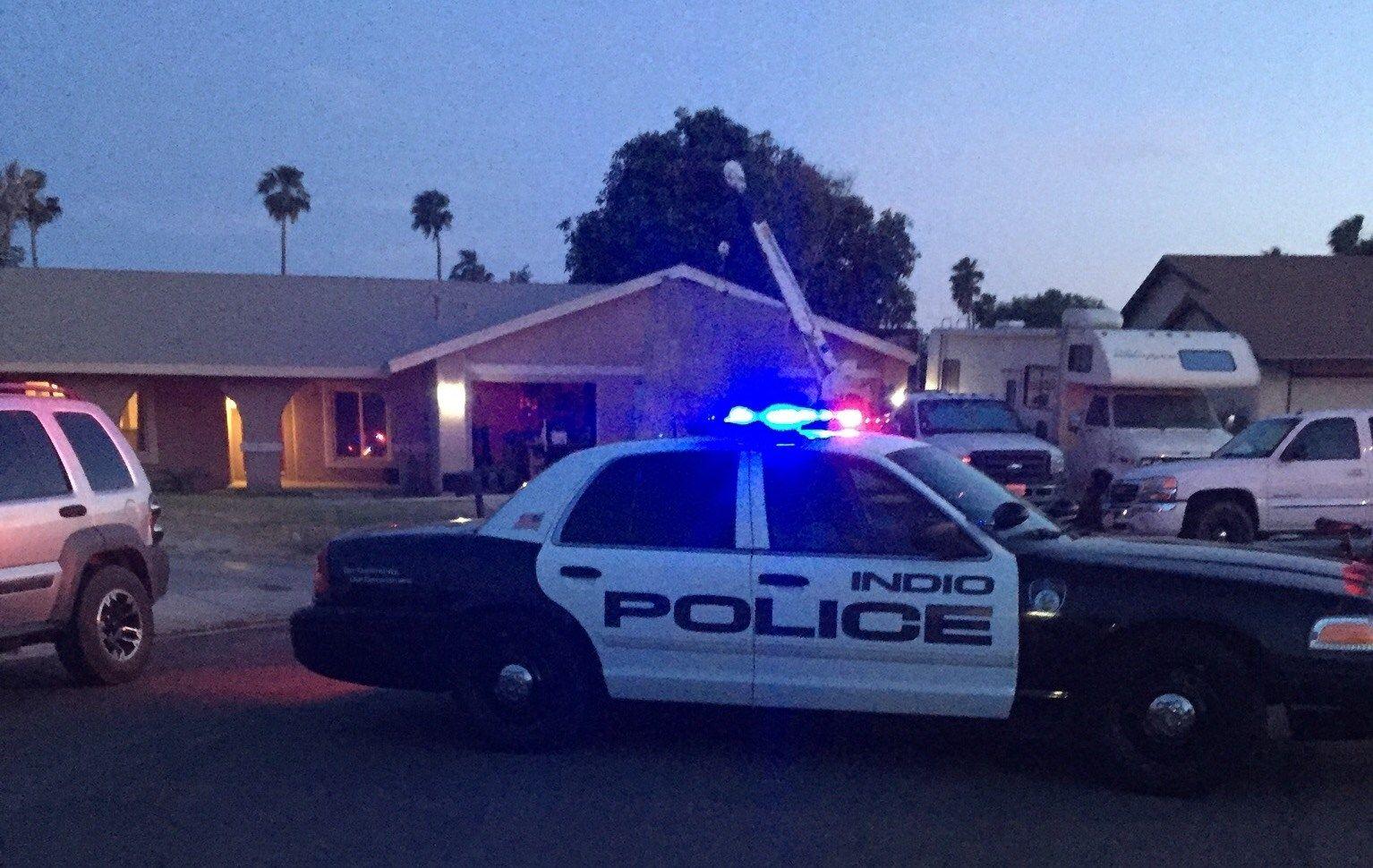 Man Found Shot in Parked Car in Indio