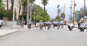 The Police Memorial Ride from LA to DC Stops in Palm Springs