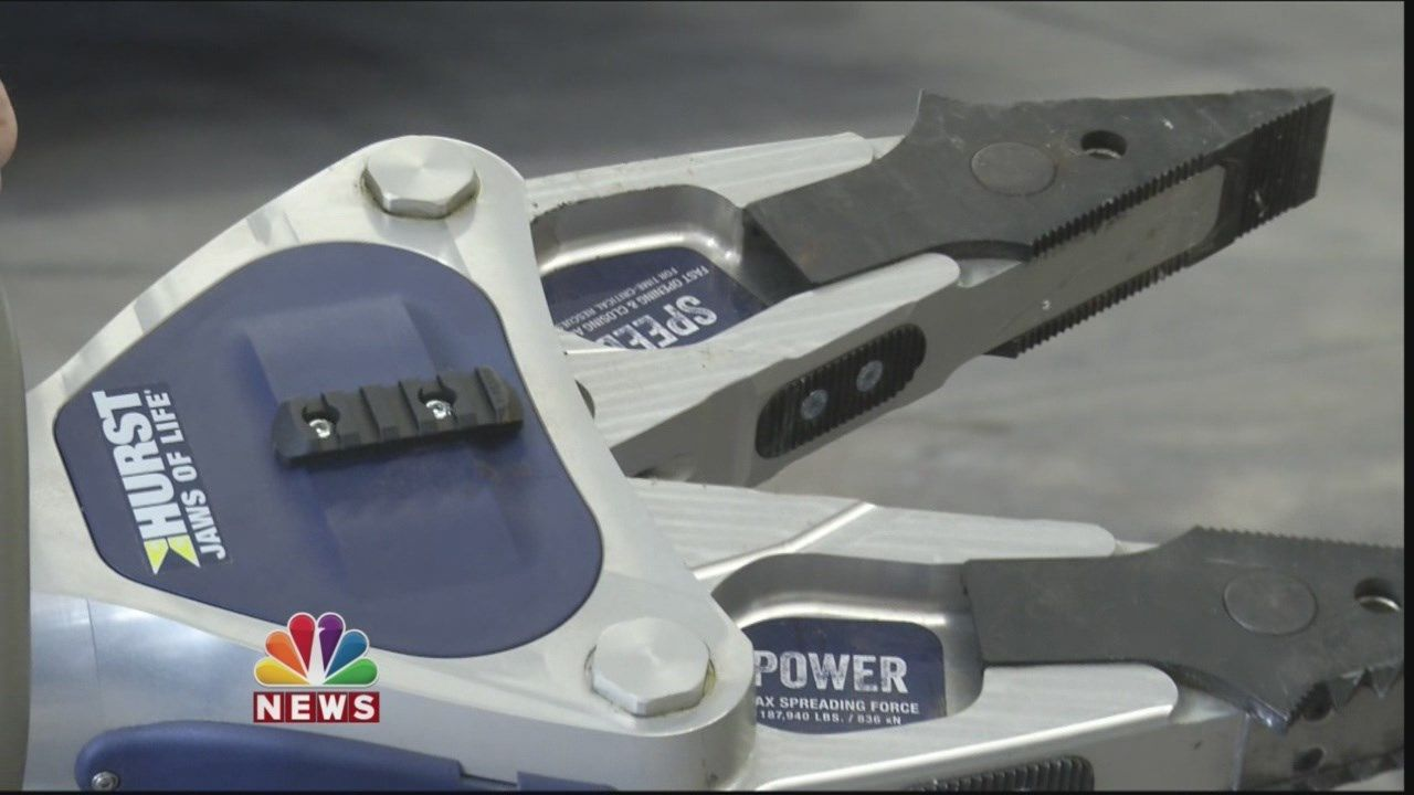 Cathedral City Fire Department Uses New Extrication Tools