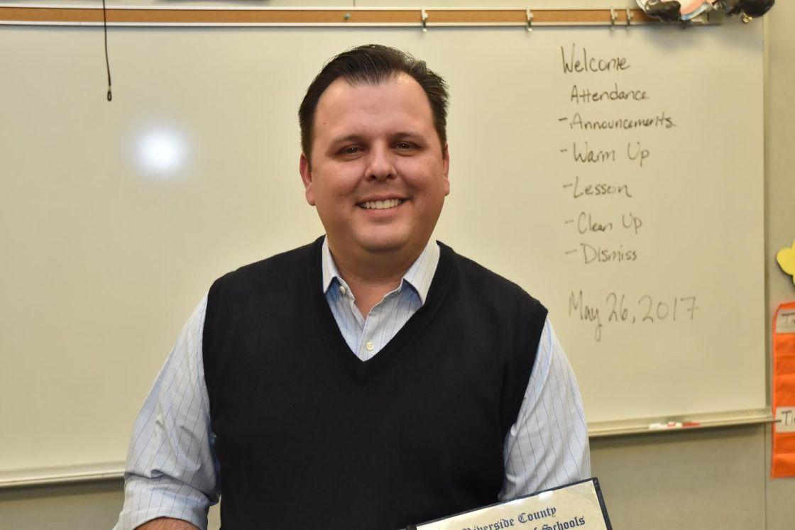 Three Desert-Area Teachers Selected as Riverside County Teacher of the Year