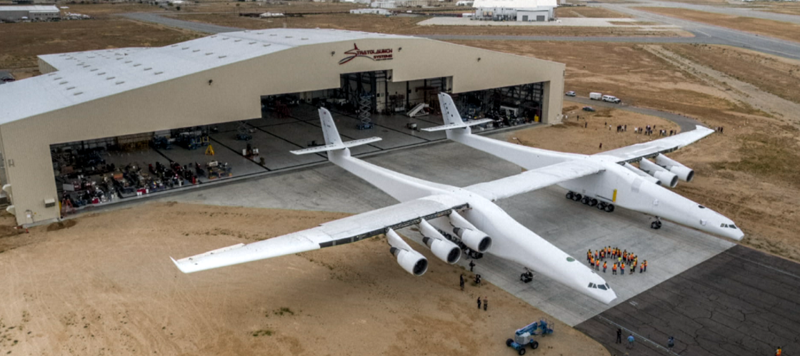 World's Biggest Airplane Rolled Out for First Time