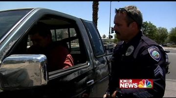 Indio Police Department Traffic Unit Conduct DUI Saturation Patrol