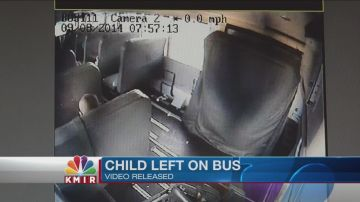 Video of Child Left on Bus in 2014 Unearthed By Employee on Leave