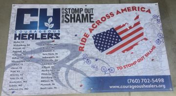 La Quinta Resident Set to 'Ride Across America to Stomp Out Shame'