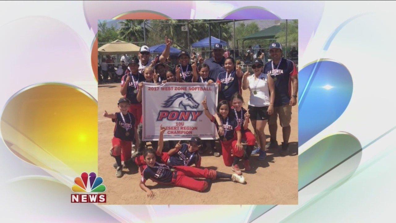La Quinta Hosts 2017 PONY Desert Region Softball Tournament