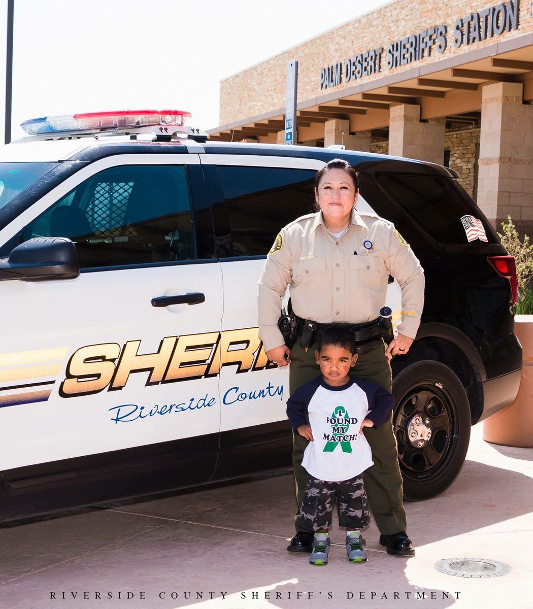 Palm Desert Sheriff's Deputy to Donate Kidney to Former Colleague's Son