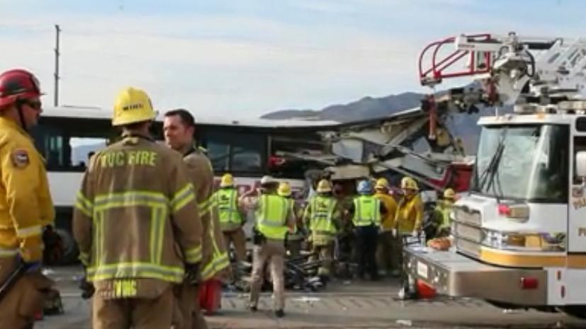 Three Passengers in Fatal Palm Springs Tour Bus Crash File Suit