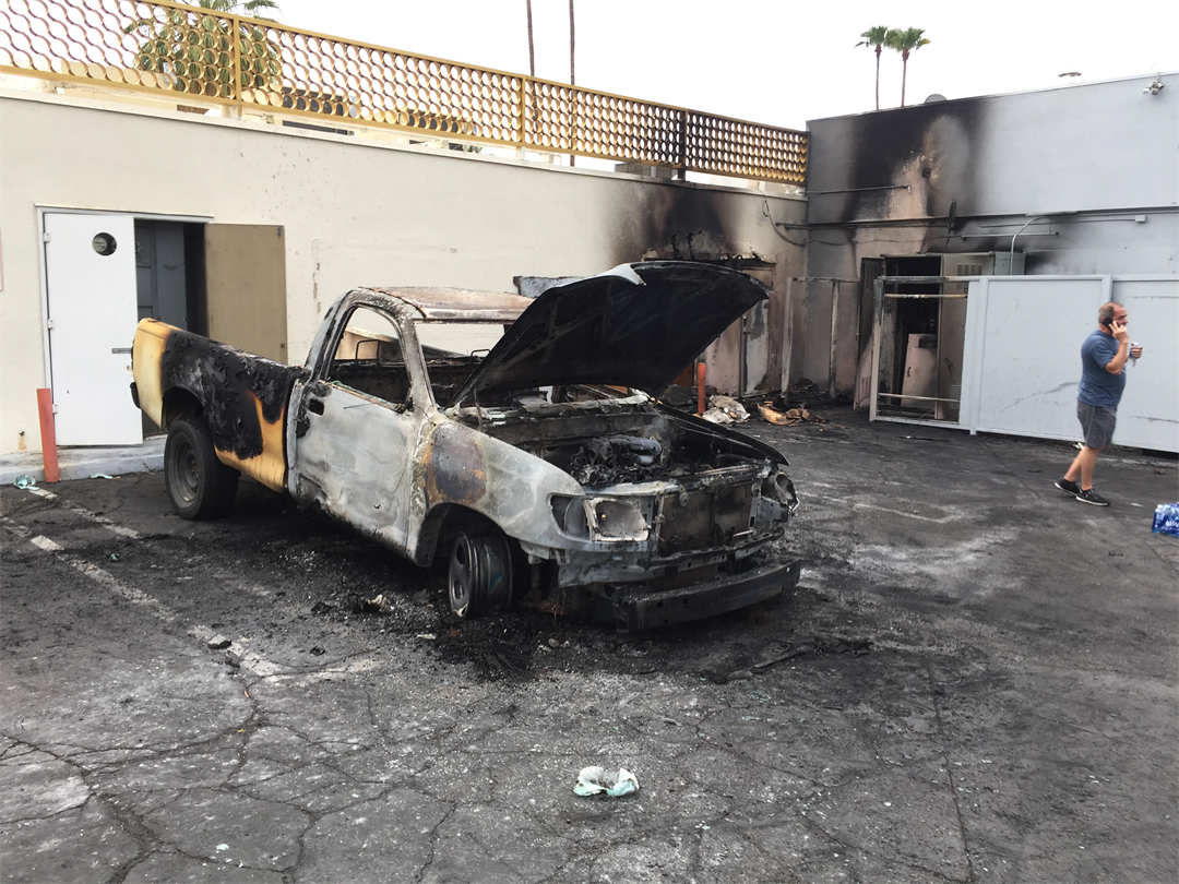 Fire Damages Several Palm Springs Businesses