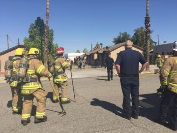 One Dead, Officer Released From Hospital After Gas Explosion at Indio Apartment