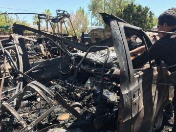 Ten People Displaced After Mobile Home Fire in Indio