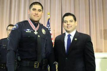 Ex San Bernardino Officer Wounded in Terror Attack Receives Bravery Award