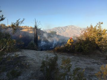 Eight Small Desert Hot Springs Brush Fires Being Investigated as Suspicious