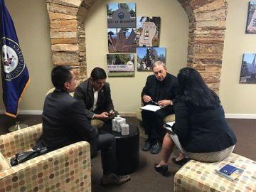 Congressman Raul Ruiz Holds Charlottesville Discussion