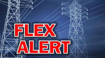 Flex Alert Issued Throughout California