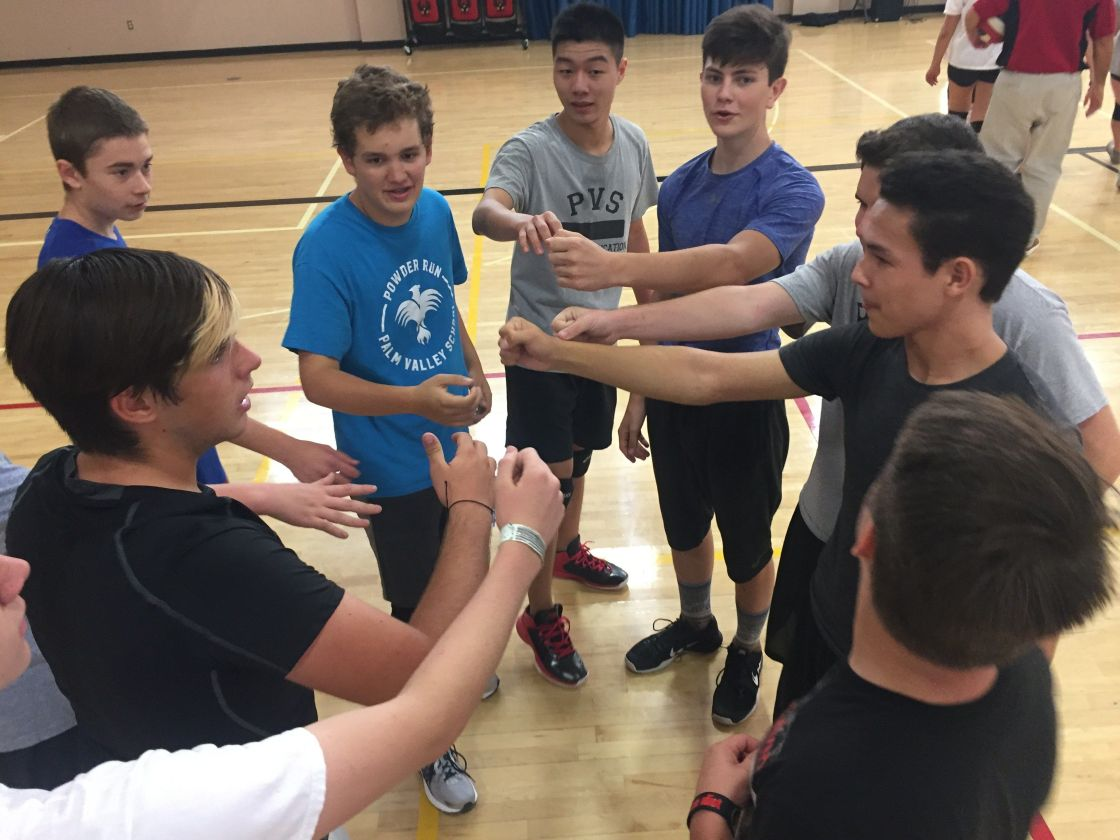 Palm Valley becomes first area school with boys' volleyball team
