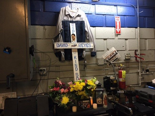 Murdered Mechanic Honored With Garage Memorial