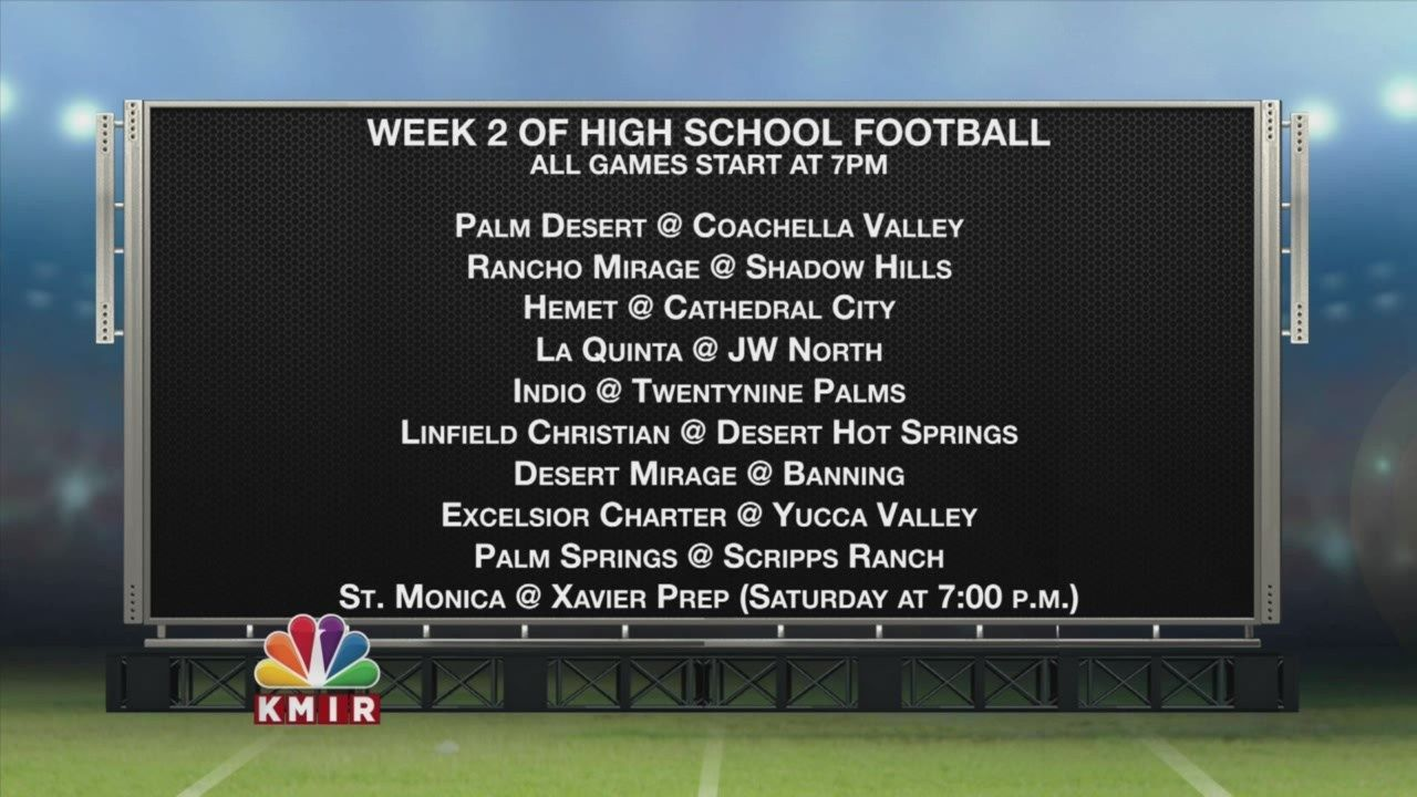 Palm Desert at Coachella Valley voted FNL Game of the Week