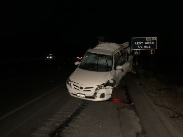 Woman Killed in Multi-Car Freeway Crash in Whitewater