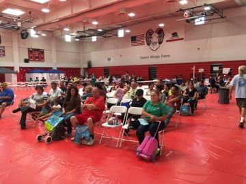 Free Health Care Fair Serves Hundreds of Uninsured In Thermal