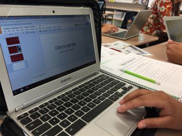 Desert Hot Springs High Students Use New Google Technology to Excel