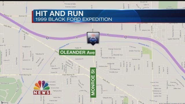 Indio Police Search for Suspect in Hit and Run; Child Airlifted to Hospital