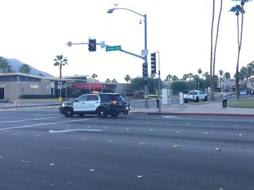 Senior Citizen Dies in Hospital After Being Struck by Car in Palm Springs