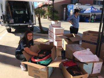 Student Makes A Difference One Backpack At A Time