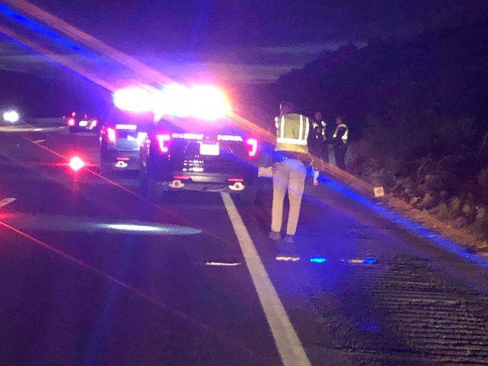 Pedestrian Struck and Killed on Interstate 10 in Palm Springs, Police Searching For Vehicle