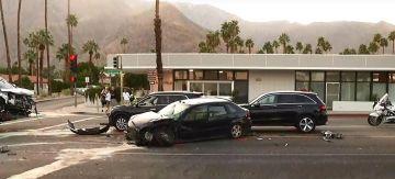 Multi-Vehicle Major Injury Crash Shuts Down Palm Springs Roadway
