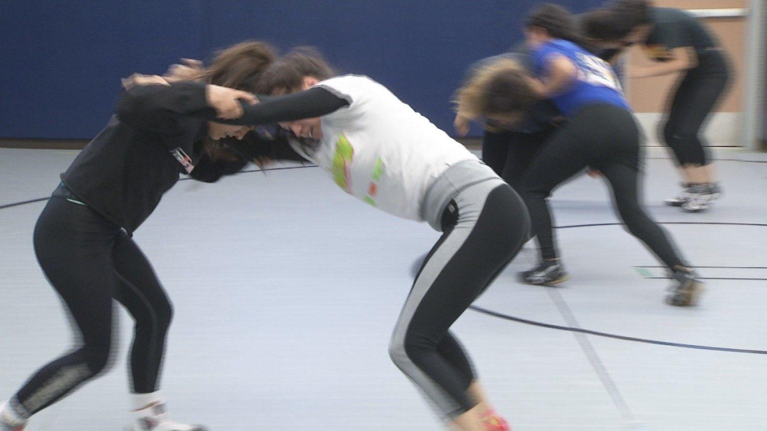 Girls Wrestling Team Narrowly Claims Fundraising Money