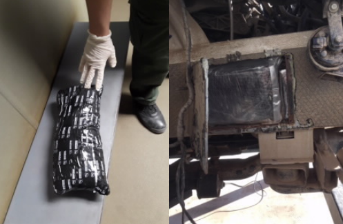 Border Patrol Discovers Cocaine and Meth at Checkpoint