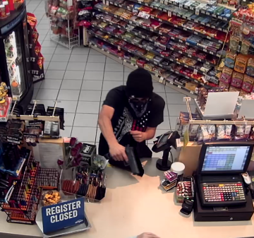Palm Springs Police Seek Public's Help Identifying Armed Robber
