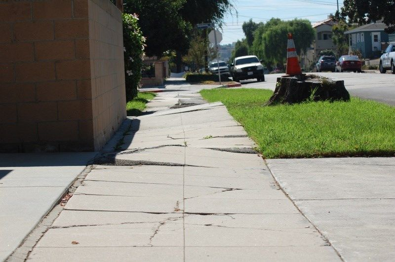 Sidewalk Repair Controversy Erupts In Cathedral City