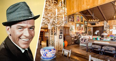 Frank Sinatra's Rustic Retreat in Palm Springs Gets a Price Cut