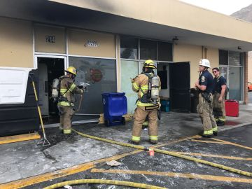 Non-Injury Fire Erupts Inside Palm Springs Restaurant