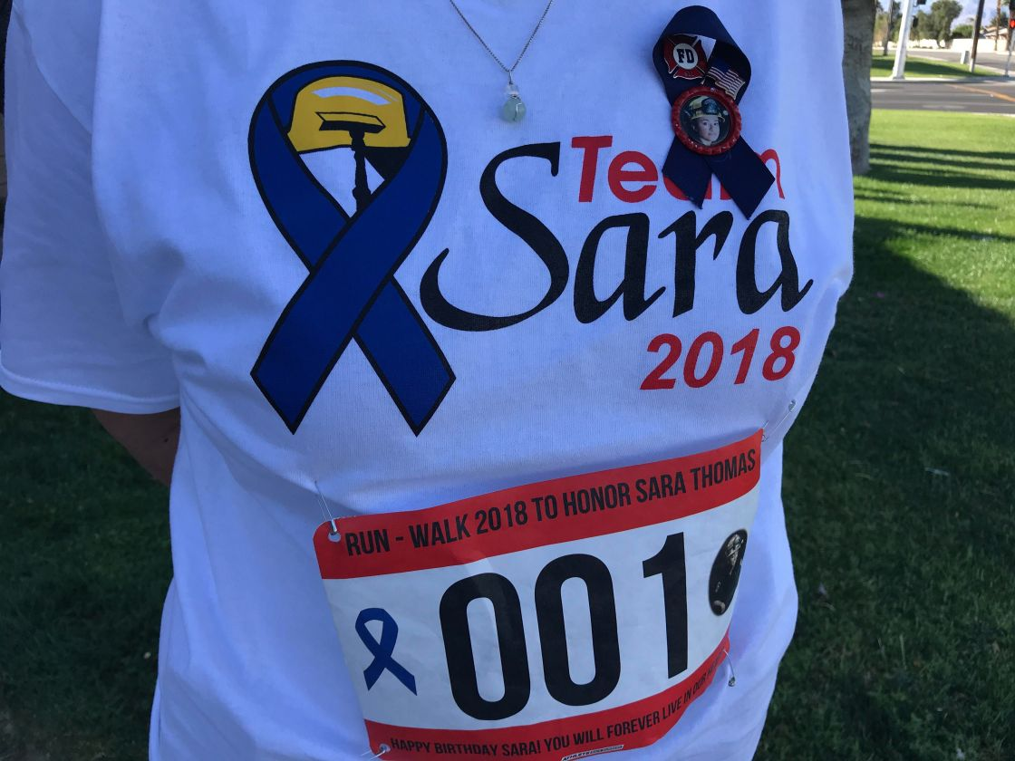 First Annual Run-Walk Honors Fallen Fire Fighter